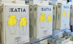 Katia underwear package design by Melis Gokcen
