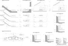 Paisaje y Arquitectura: puente peatonal Ravelijn, un nuevo conector entre la ciudad e isla-fortaleza,Cortes & Detalles