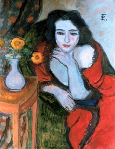 Theodor Pallady (Romanian, 1871-1956) Image Painting, Painting & Drawing, Paintings I Love, Flower Paintings, Vintage Wall Art, Artist At Work, Creative Art, Flower Art, Sculpture Art