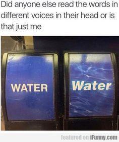 Ha, I do that...