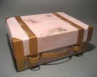 suitcase shoebox