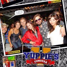 YUPPIE'S CONDESA ROCKEANDO CON ZOHEBAND CW
