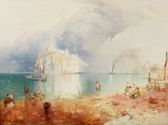 The Island of Ischia - James Baker Pyne 1855