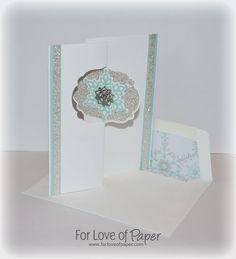 I love the new Thinlits Dies from Stampin Up. Stampin Up Festive Flurry Bundle Meets the New Thinlits Die