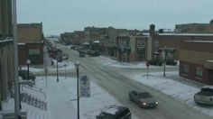 Live streaming Webcam from North Dakota (USA), Main Street.