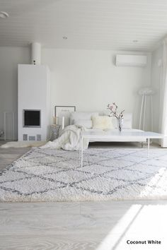 White Magic, Minimalist Style, Inspired Homes, Bed Room, Interior Inspiration, Sweet Home, Room Ideas, Coconut, Interior Design
