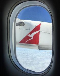 @alexkess: Roo in the clouds... #australia #qantas