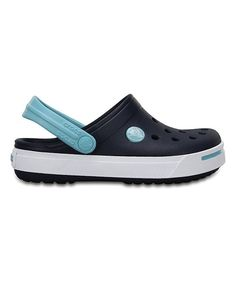 7ecd66dc5bed0 Crocs Navy   Ice Blue Crocband™ II Clog