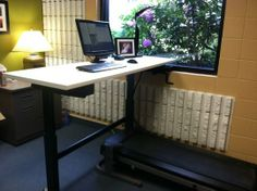 Walk & Work: The $130 DIY Standing and Treadmill Desk Instructables