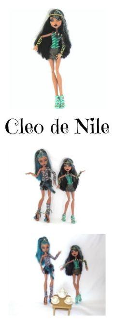 Cleo de Nile Monster High Egyptian Mummy Doll - LADYMERMAID.com