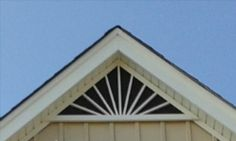 Get your Gable Vents in Mobile AL.delivering your louvered gable vents and decorative gable vents to Mobile Alabama.