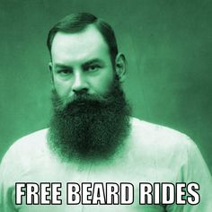 Actually, this guy could probably charge with that magnificent beard Beard Gifts, Beard Humor, Beard Love, Online Gifts, Bearded Men, Guys, Funny, Hair, Life