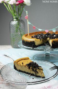cheesecake mit oreo-boden | cheesecake with oreo crust (vegan) ❤