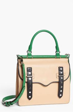 'Brett' Colorblock Satchel