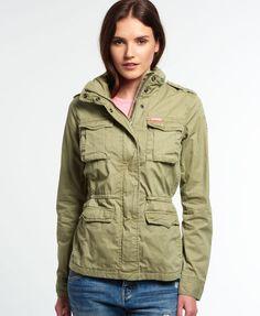 Superdry Rookie Military Jacket - Women's Jackets & Coats