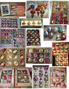 §§§ : vintage glass ornaments
