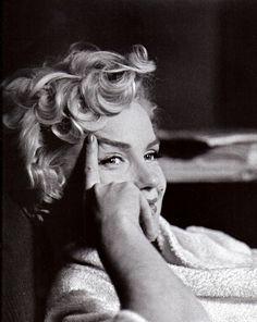 Marilyn. Smiling.