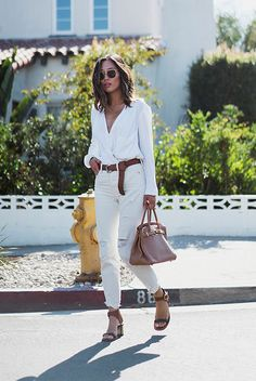 The Best Outfit Ideas Of The Week: Fashion blogger 'Song of Style' wearing a…