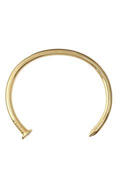Tom Binns Voilà Gold Nail Collar