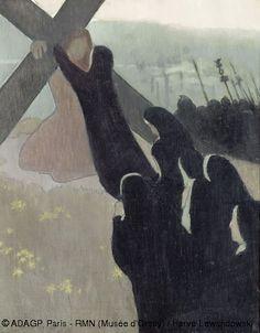 Road to Clavary   Maurice Denis (1889)  41cm x 32.5cm