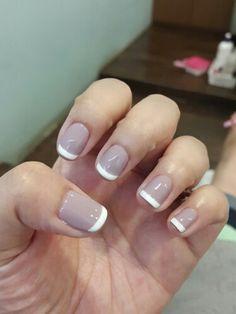 French nail ❤
