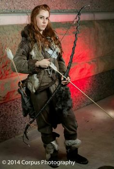Ygritte!  Photo by: corps13.deviantart.com Cosplayer: celticzombie.deviantart.com Game of Thrones #cosplay #ygritte #wizardworld #gameofthronescosplay #gameofthrones