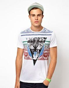 Ringspun Printed T-Shirt Catty