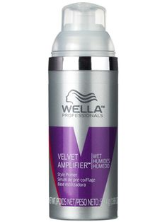 This Wella styling primer smooths the cuticle, provides light hold, and enhances the effect of any additional products.