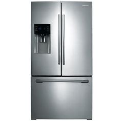 "jcpenney.com | SAMSUNG ENERGY STAR® 24.6 CU. FT. 36"" WIDE 3-DOORFRENCH DOOR REFRIGERATOR WITH EXTERNAL ICE MAKER"""
