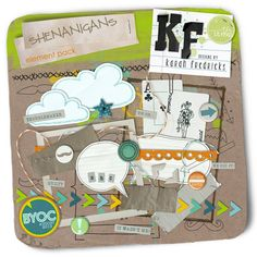 Shenanigans (element pack) by Karah Fredricks ... Digital Scrapbooking