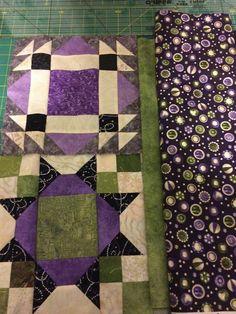 Allietare version in similar colors as mine (Bonnie Hunter)