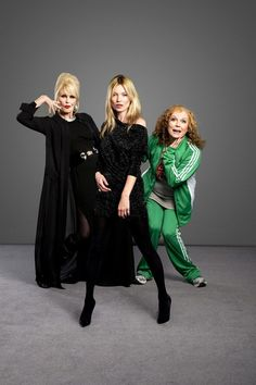 Abfab Edie & Patsy... Kate moss wishes