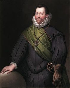 Picture Of Famous Pirate Francis Drake & Profile.