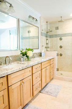 Modern Natural Master Bathroom - transitional - bathroom - san francisco - J Manning Studio