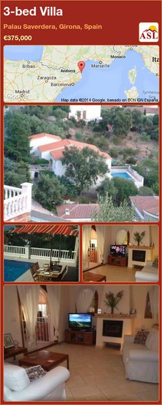 3-bed Villa in Palau Saverdera, Girona, Spain ►€375,000 #PropertyForSaleInSpain