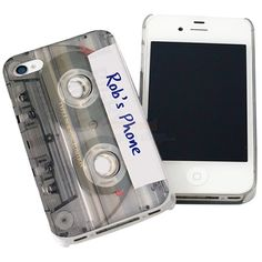 Personalised Cassette Tape iPhone Case  from Personalised Gifts Shop - ONLY £14.95