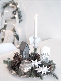 Top 40 Silver And White Christmas Decoration Ideas - Silver and white color combination look surreal. It is reminiscent of the icy winter days. So this Christmas,  forget the traditional green and red and opt for silver and white theme instead. It is neutral …