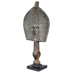 Traditional Primitive Tribal Art Bakota Reliquary Figure - Bonnin Ashley Antiques, Miami, FL