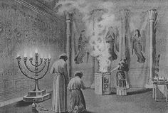 The Shekinah Glory enters the temple. The Shekinah is the female in the presence of God. Menorah, Temple In Jerusalem, Religion, Saint Esprit, Learn Hebrew, The Tabernacle, The Rite, Occult Art, Triple Goddess
