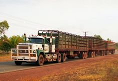 Photo by ROGER EVANS   by wob2007 Train Truck, Road Train, Tow Truck, Mack Trucks, Big Rig Trucks, Cool Trucks, Old Bangers, Mack Attack, Mixer Truck