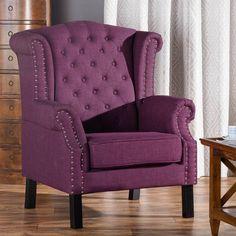 Sessel Winchester Violet 87x78x110cm