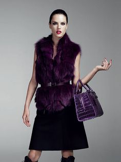 Alessandra Ambrosio for Loewe Made to Order Collection