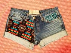 Tribal print shorts?? Want them verrry badly <3