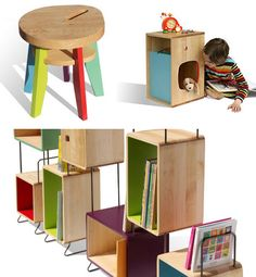children's modern furniture from French company Nonah!