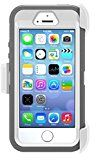 #9: OtterBox Protective Defender Case for Apple iPhone 5 iPhone 5s and iPhone SE - White/Pink (Retail Packaging)