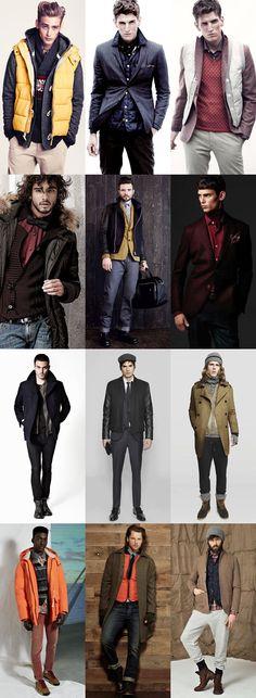 Men's Creative Layering Lookbook
