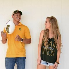 """Baylor University """"Baylor Nation"""" men's and women's gear from Barefoot Waco"""
