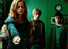 Hermione is so strong