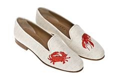 Stubbs & Wootton Beach Flax Loafers