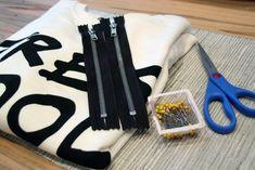 DIY :: Zipper Sweatshirt